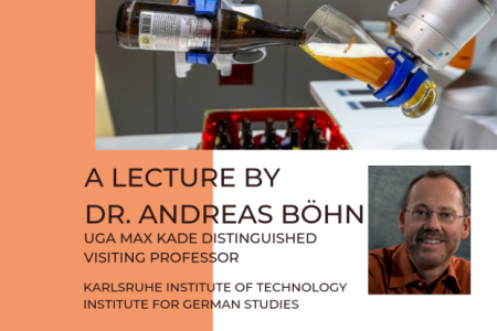 Industry 4.0 Lecture by Dr. Andreas Bohn on Feb. 27th at 4:30 room 275 MLC