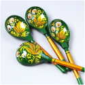 Russian spoon painting